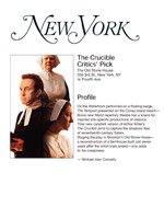 New York Magazine - The Crucible